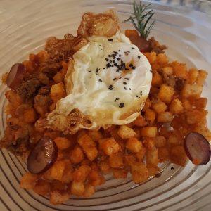 El Cenador de las Monjas   Pastrana (Migas del pastor)