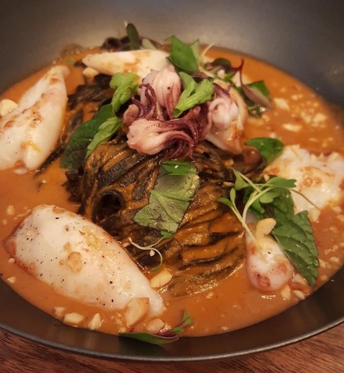 Kuoco 360 Food (tallarines negros)