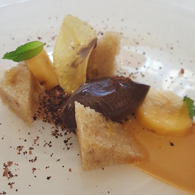 Surtopía (Chocolate, plátano y caramelo)