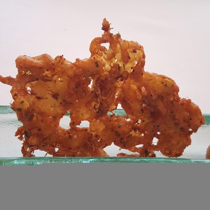 Surtopía (Tortillitas de camarones)