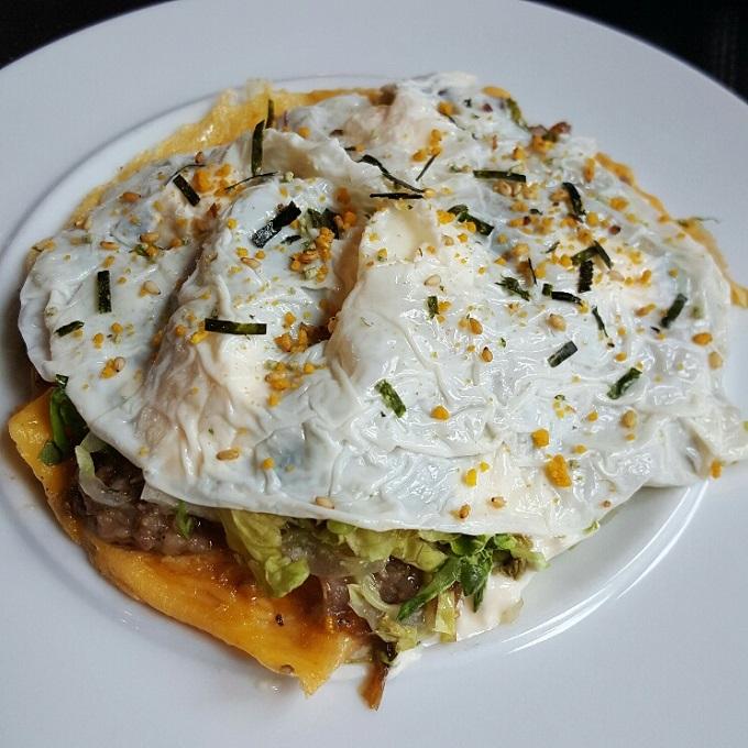 Atico-Tortilla abierta