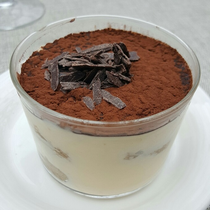 Arroz Catalina (Tiramisu)