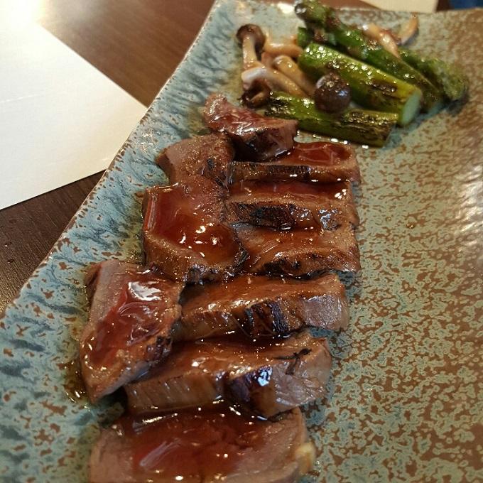 Miki-(Yuanyaki de solomillo de buey)