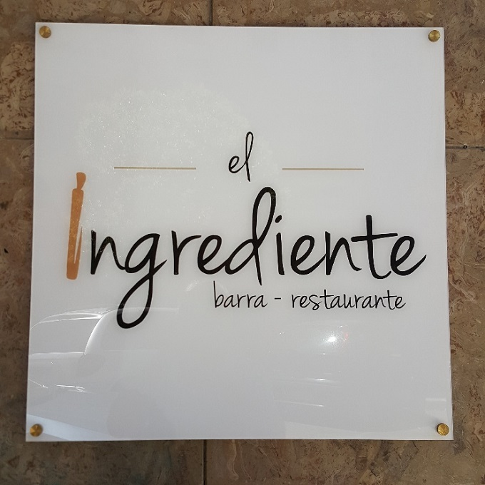 El Ingrediente (Entrada)
