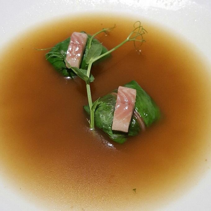 Kena (Dumpling de morcillo)