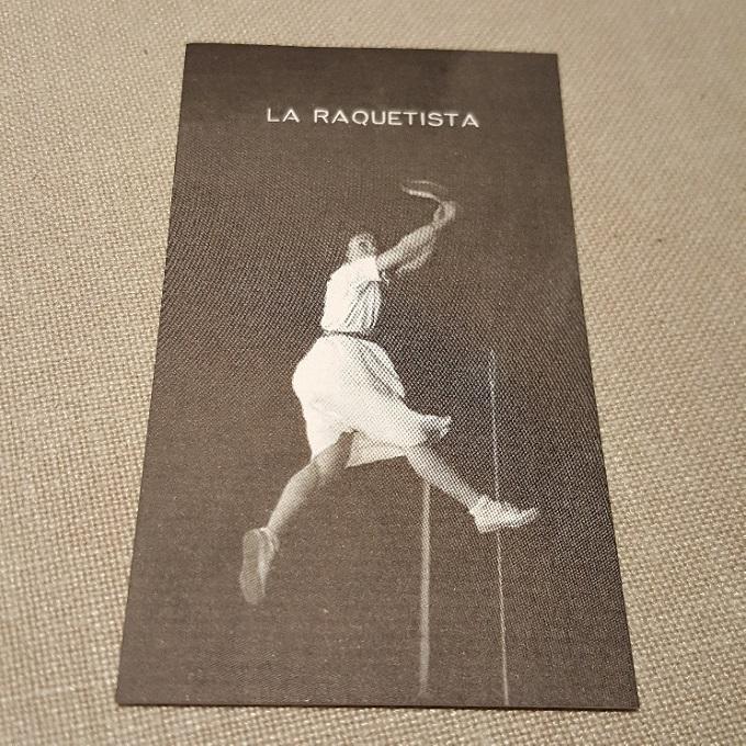 La Raquetista (Detalle)