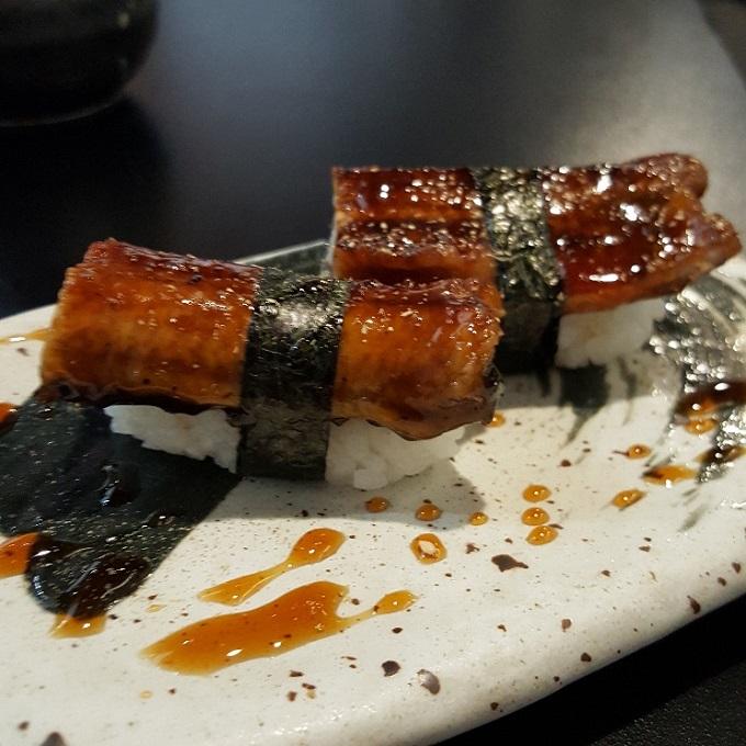 Ki-jote (Nigiri de anguila)