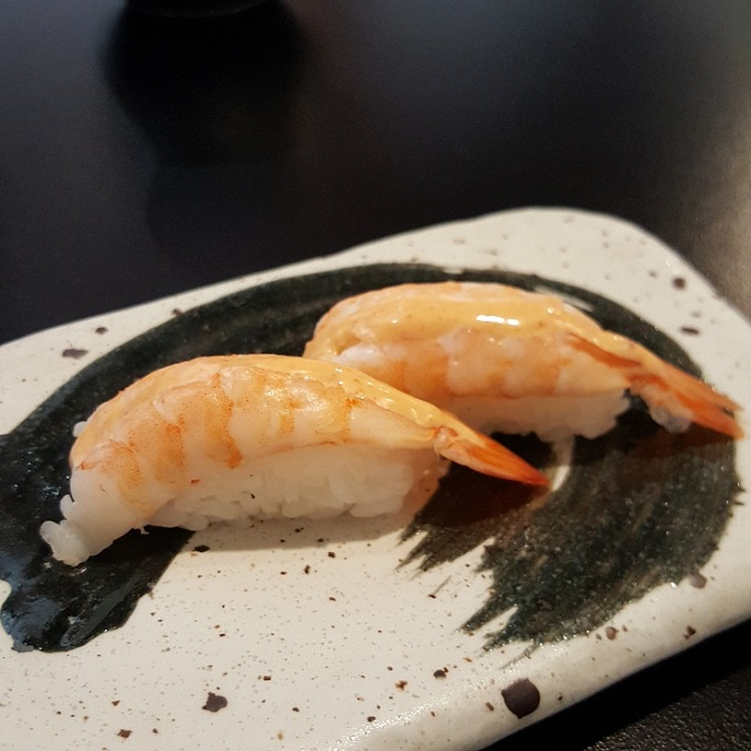 Ki-jote (Nigiri de langostino)