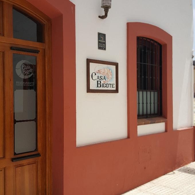Casa Bigote (Acceso al restaurante)