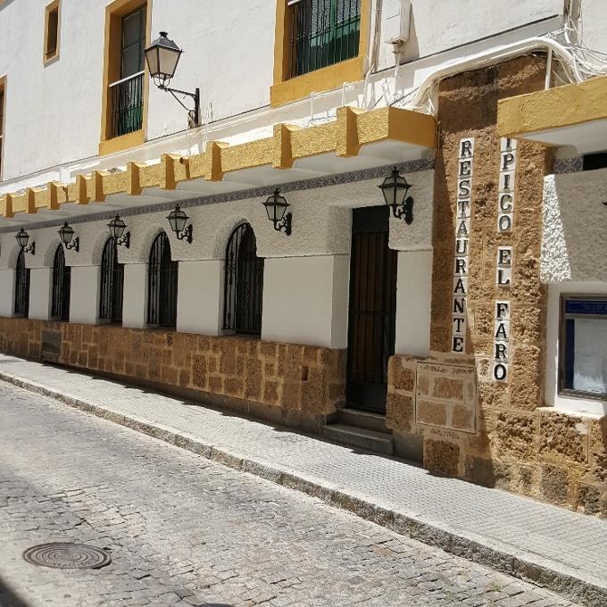 El Faro de Cadiz (Acceso al local)