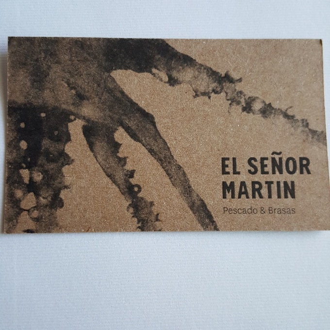 El Señor Martin (Etiqueta)