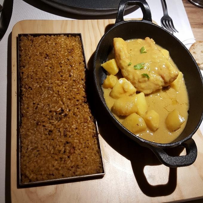 Sa Brisa Madid (Bullit de peix con su arroz a banda)