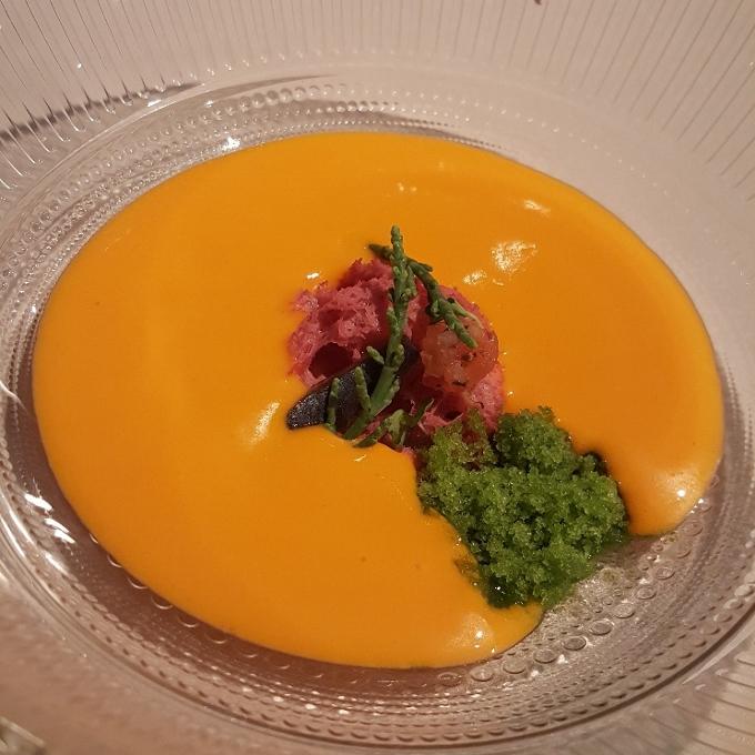 El Doncel (Emulsión de tomate, sardina ahumada)