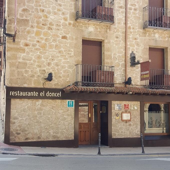El Doncel (Fachada exterior)
