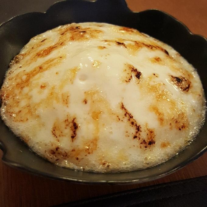 Nöla (Mousse caramelizada de leche de oveja)