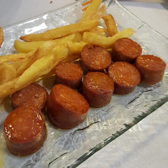 José María (Choricillos de la olla con patatas)