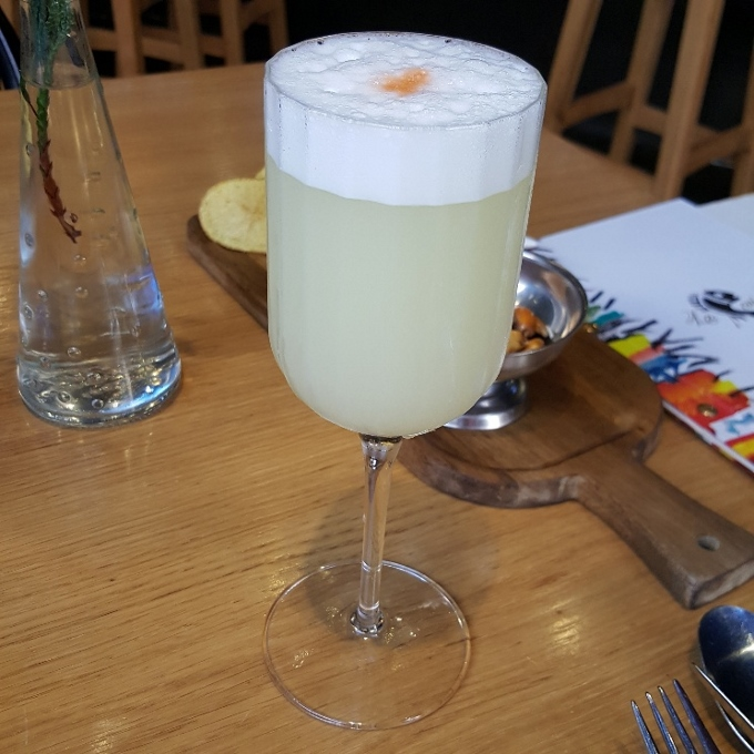 La Cevicucheria (Pisco Sour)