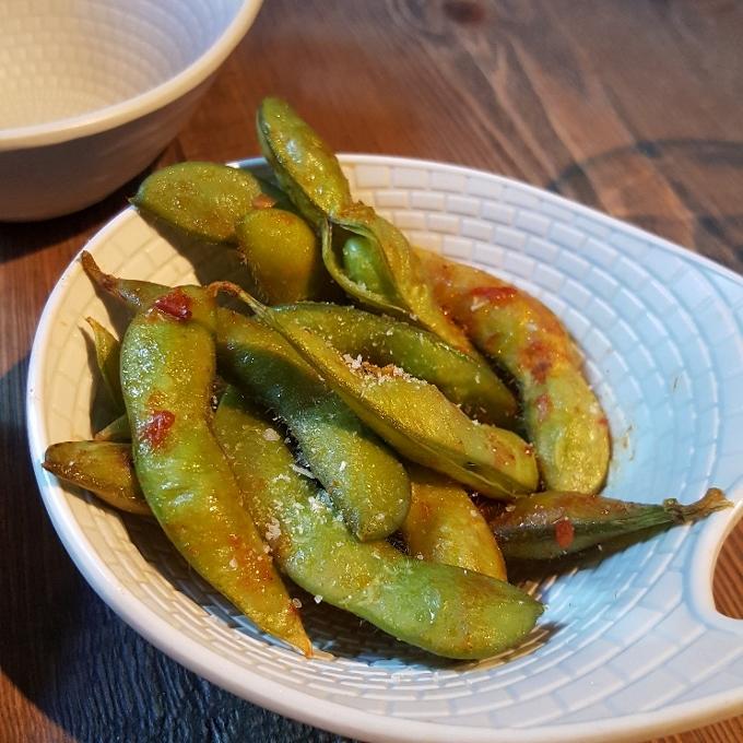 Kirikata (Edamame ligeramente picante)