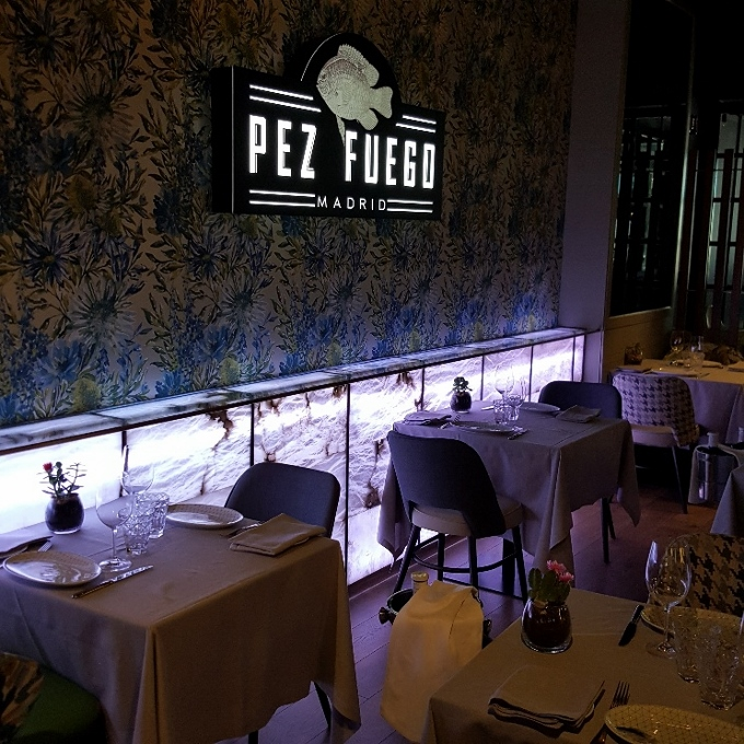 Pez Fuego (Una vista del local)