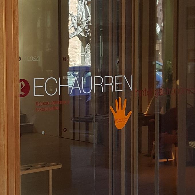 Echaurren Tradición (Acceso al restaurante)