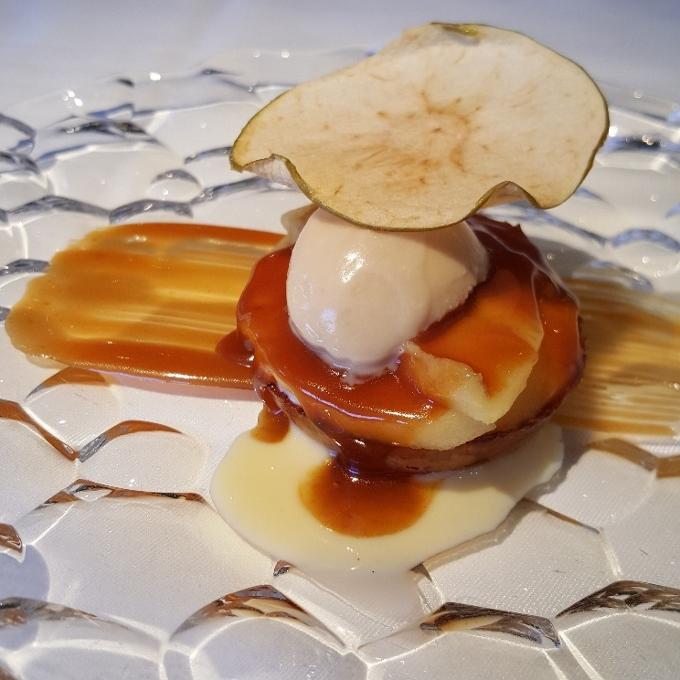 Echaurren Tradición (Tosta templada con queso de Cameros)