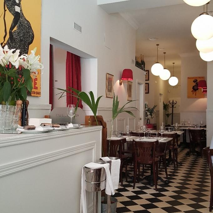 Café de Paris (Vista parcial del comedor)