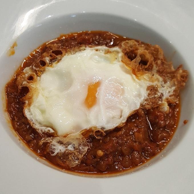 La Taberna de Elia (Pisto con huevo frito)